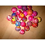 Bouncy Balls - Pack of 20 - Party Bag filler - 27mm bouncy ball