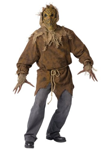 Funworld Mens Horror Scarecrow Theme Party Fancy Halloween Costume