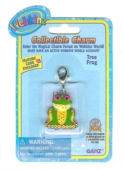 Webkinz Tree Frog Charm