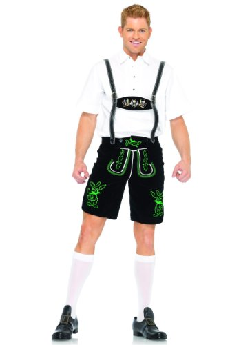 Leg Avenue Men's German Lederhosen Costume