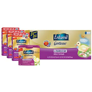 Enfamil Infant Formula Powder, Gentlease (118.1 oz)