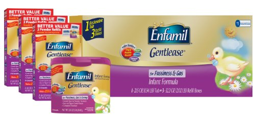 Enfamil Infant Formula Powder, Gentlease, 118.1 Ounce