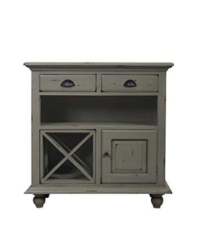 Jeffan Fleming Wine Cabinet, Grey