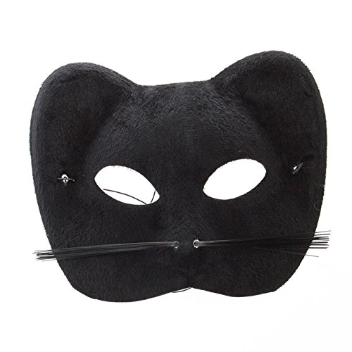 Black Cat Mask - 1