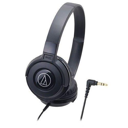 Audio-technica ATH-S100/BK STREETモニタリングポータブルヘッドホン ATHS100 ブラック [並行輸入品]