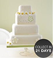 4 Tier Meadow Sponge Cake