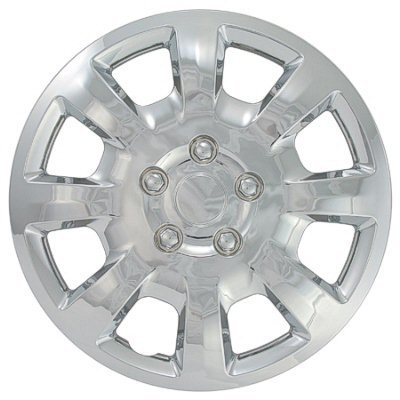 CCI IWC442-16S 16 Inch Clip On Silver Finish Hubcaps - Pack of 4