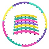 Newly Magnetic Therapy Massager Hula-Hoop Adjustable Exercise Hula Hoop Fitness