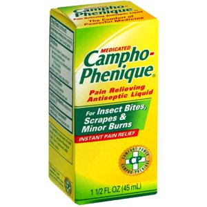 A1 Special Sale pack of 6 Campho-phenique Pain Relieving Antiseptic Liquid 1.5 fl oz (45 ml) - Limited Time Offer