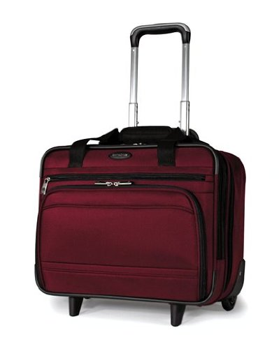 cheap samsonite dkx wheeled computer tote luggage burgundy carry on luggage with wheels. Black Bedroom Furniture Sets. Home Design Ideas
