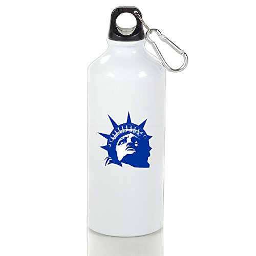 Ckovp Sports Water Bottle Portable Flask American The Statue Of Liberty White (Bronze Straw Dispenser compare prices)