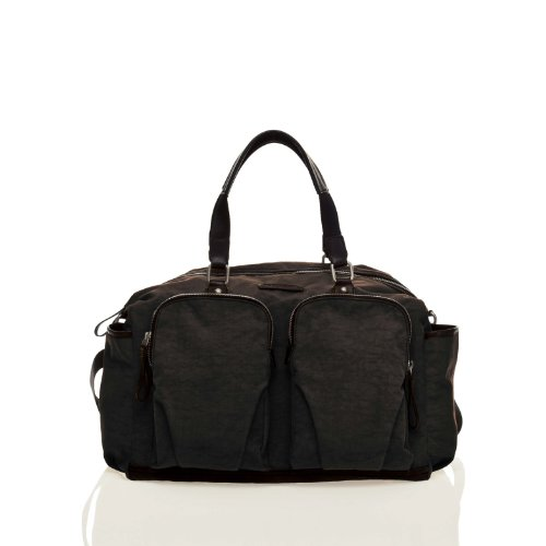 TWELVElittle Unisex Courage Satchel in Black
