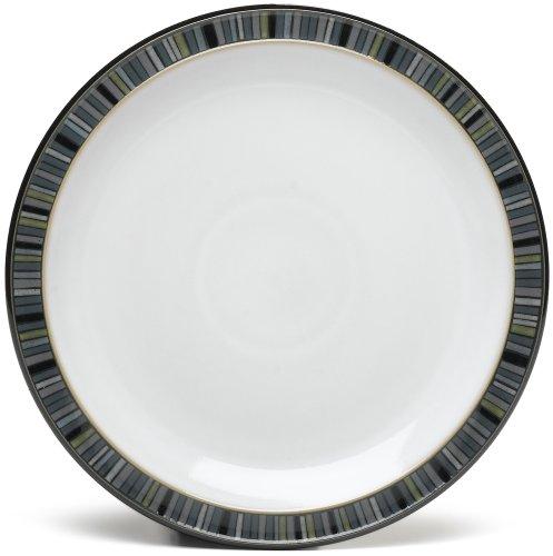 Denby Jet Stripes Salad Plates, Set Of 4
