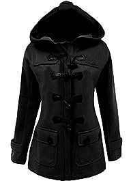 Meaneor Women's Missy Duffle Coat Bac…