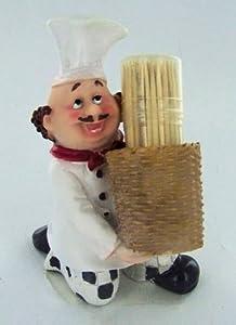 Fat Chef Toothpick Holder Kitchen Decoration