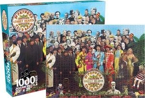 The Beatles Sgt. Pepper 1000 Pieces Puzzle (1000 Piece Personal Photo Puzzle compare prices)