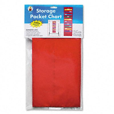 Carson-Dellosa Publishing CD-5653 Storage Pocket 