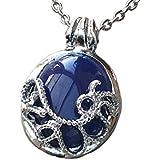Vampire Diaries Katherine Anti-Lumire du soleil Lapis Lazuli Collier avec pendentif