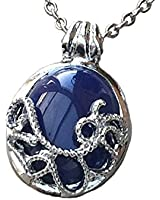 InspirŽ TV Vampire Diaries bleu collier pendentif Lapis