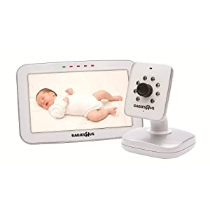babies r us perfect view color 5 video monitor. Black Bedroom Furniture Sets. Home Design Ideas