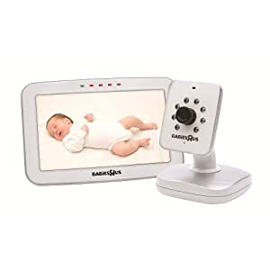 babies r us perfect view color 5 video monitor baby. Black Bedroom Furniture Sets. Home Design Ideas