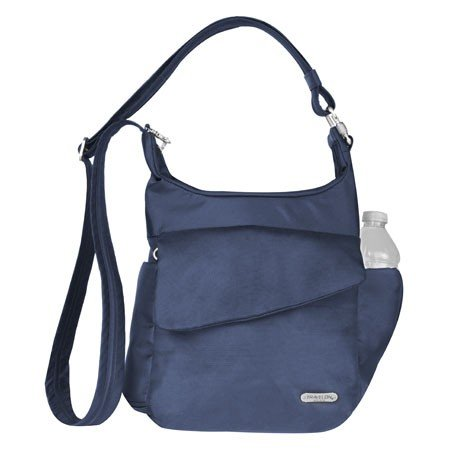 Travelon Anti-Theft Classic Messenger Bag, Midnight, One Size