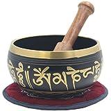 Tibetan Meditation Om Mani Padme Hum Peace Singing Bowl With Mallet