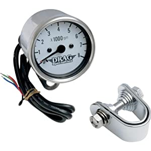 "Amazon.com: Drag Specialties 2.45"" Mini Electronic 8000 RPM Tachometer"