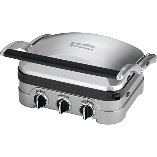 Cuisinart Griddler 13.5 In. X 11.5 In. X 7.2 In. Brushed Ss