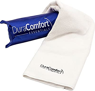 DuraComfort Microfiber Hair Towel - Drastically Reduce Hair Drying Time OR 100% RISK FREE Money Back Guarantee - Super Absorbent Large 19x39 in