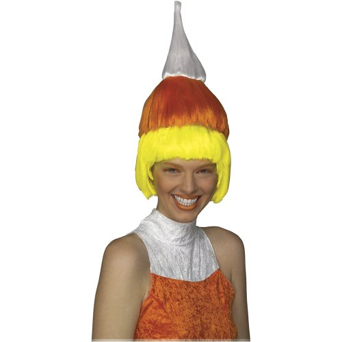 Rubie's Costume Candi Corn Wig, Multicolored, One Size
