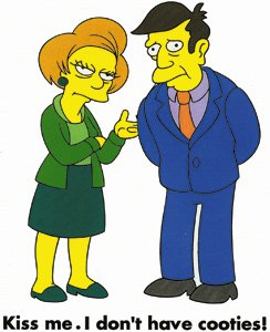 Skinner and Mrs. Krabappel/Kiss Me. I Don't Have Cooties!: Automotive