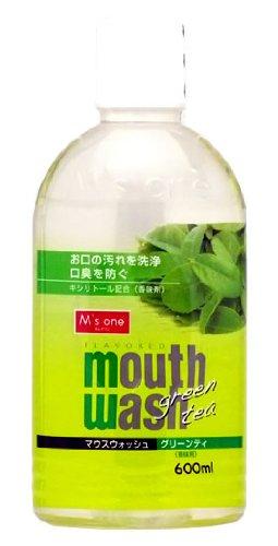 エムズワン マウスウォッシュ 緑茶 600ml