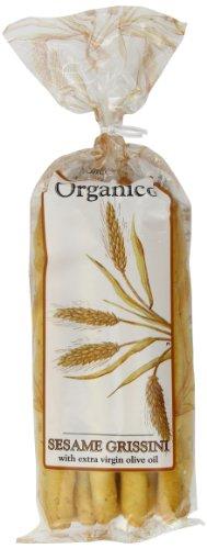 Organico Sesame Organic  Grissini 120 g (Pack of 8)
