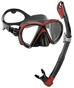 Buy Head Scuba Snorkeling Liquidskin Mask Dry Snorkel Combo by HEAD