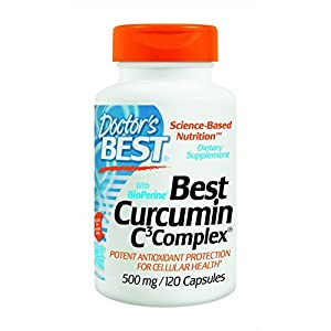 Doctor s Best Curcumin C3 Complex with BioPerine (500 Mg) (240 Capsules)