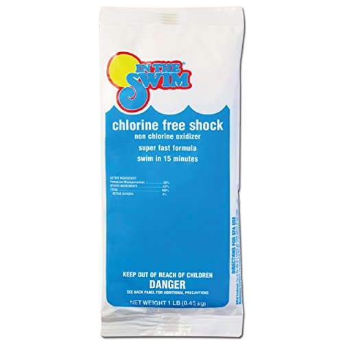 In The Swim Chlorine-Free Pool Swimming Pool Shock - 24 x 1 Pound Bags