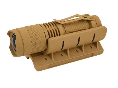 Hot Shot Tactical Hssg12 Minict Beamlokr And Mini Tactical Light, Fits 12-Gauge, Coyote Tan