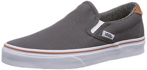 Vans SLIP-ON 59 Low-Top Sneaker, Unisex Adulto, Grigio (pewter/tw F7Y), 42.5