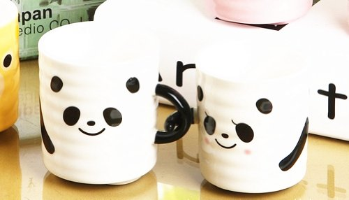 Moyishi 300Ml Lovely Panda Coffee Milk Ceramic Mug Cup Christmas Birthday Best Gift