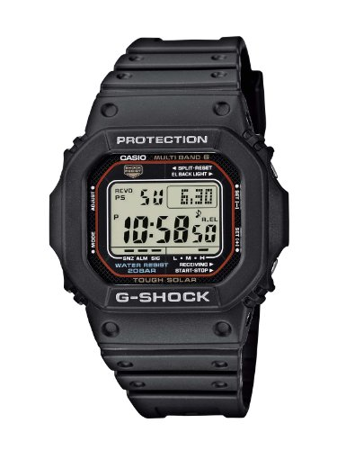 Casio GW-M5610-1ER Wave Ceptor Radio Controlled G-SHOCK Mens Digital Resin Watch
