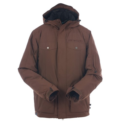 Animal Men's Clancy Full Zip Jacket - Chestnut, Medium