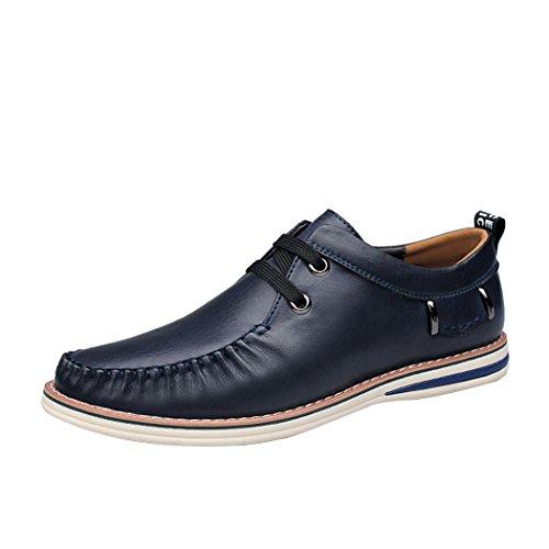 Spades & Clubs, Mocassini uomo blu Size: 44