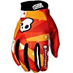 Answer Racing Skullcandy Gloves Red (Large 45-0781)
