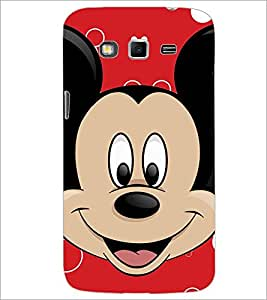PrintDhaba Mickey Mouse D-2318 Back Case Cover for SAMSUNG GALAXY GRAND 2 (Multi-Coloured)