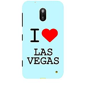 Skin4gadgets I love Vegas Colour - Light Blue Phone Skin for LUMIA 620