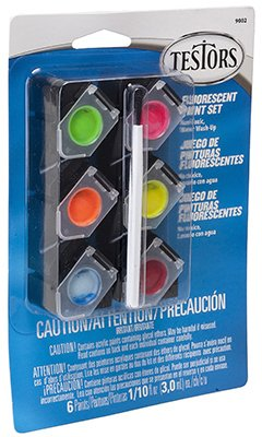 TESTOR CORPORATION 9002 0.10-Ounce Fluorescent Acrylic Pod Set - 1