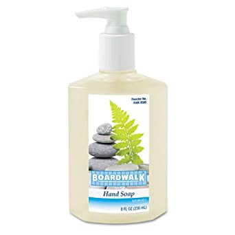 Boardwalk 8500 Liquid Hand Soap, Floral, 8 oz Pump Bottle (Case of 12)