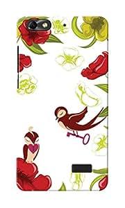 KnapCase Love Designer 3D Printed Case Cover For Huwaei Honor 4C