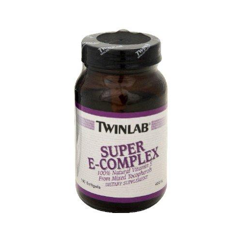 TwinLab - Super E-Complex, 400 IU, 100 softgels